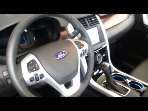 Interior Ford Edge Limited 2014 Precio Caracteristicas versión para Colombia FULL HD