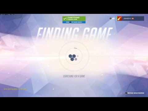 Fortnite and overwatch gameplay