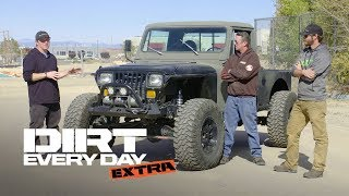A Custom Diesel Jeep CJ10! - Dirt Every Day Extra. MotorTrend.
