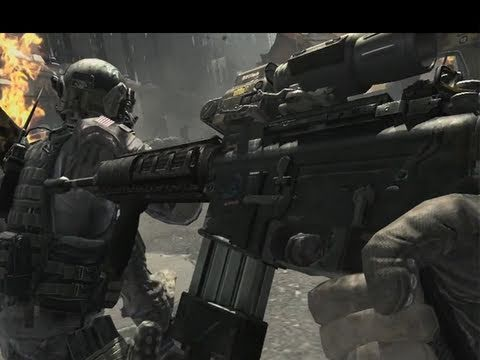 Call of Duty: MODERN WARFARE 3 - MW3 official GAMEPLAY trailer analysis/breakdown - NEW guns!
