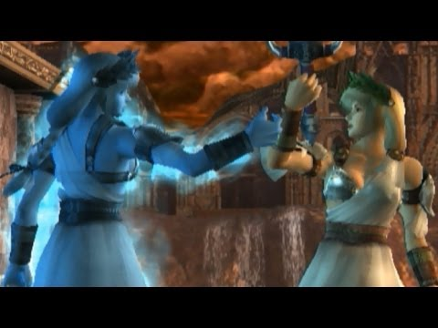 Soul Calibur III - Sophitia with Ivy's Ending