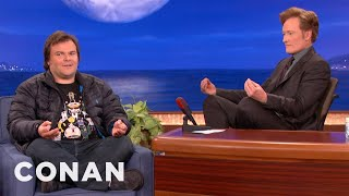 Jack Black Will Do Anything to Get into Hebrew School: Conan on Tbs