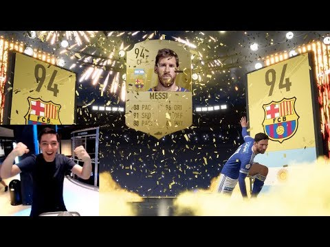 LIONEL MESSI IN PACK !!! FIFA 19 PACK OPENING !!!