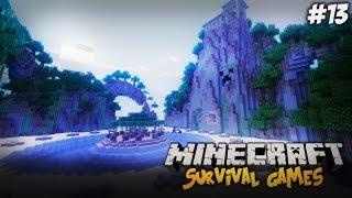 Minecraft Survival Games SZALONA OLA, DIAXOWY MIECZ