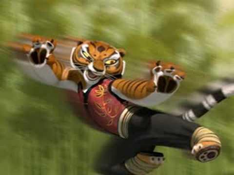 Kung fu panda tiger - photo#18