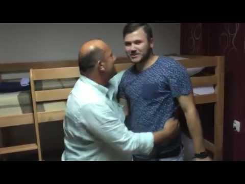 Димитар Гоцевски и бездомникот Чичко Томе