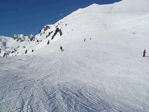 Ski mit Oberschenkelprothese