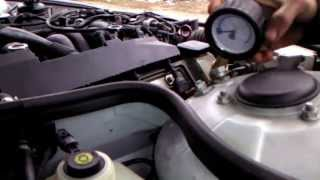Замер компресии цилиндров в двигателе BMW M62B35