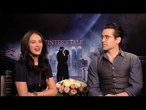 Winter's Tale - Colin Farrell and Jessica Brown Findlay on Romance [HD]