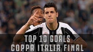 10 Goals that won the Coppa Italia