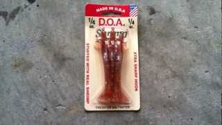 D.O.A. Shrimp Saltwater Or Freshwater Fishing Lure