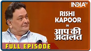 Watch Bollywood actor Rishi Kapoor in Aap Ki Adalat
