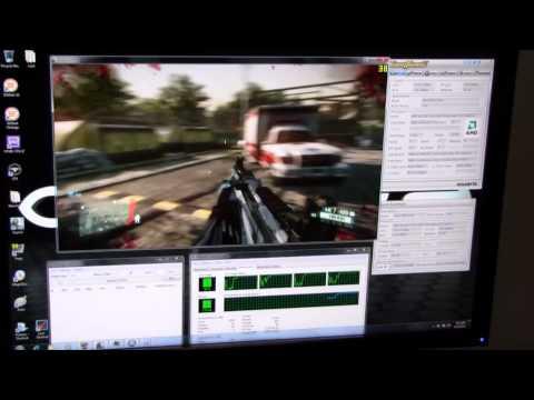 AMD Llano протестировали в Crysis 2