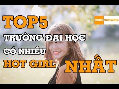 Top 5 Trường đại học có nhiều HOT GIRL nhất