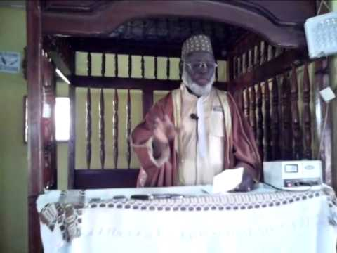 Imam Kofin Daramy given Friday Kutbah at angola Mosque,nzerekore.In Mandingo.part 2