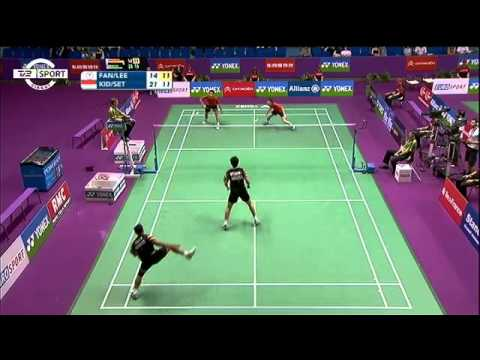 Badminton - Fastest sport in the WORLD!, Unbelievable rally at the world championships 2010 in mens doubles. Markis Kido/Hendra Setiawan - FANG Chieh Min/LEE Sheng Mu