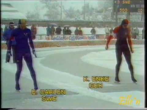 Olympic Winter Games Sarajevo 1984 – 500 m Karin Enke – E. Carlén