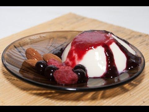 Десерт «Панакотта»