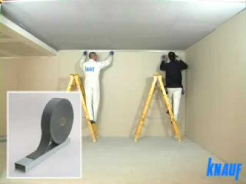 Knauf montaż sufitów