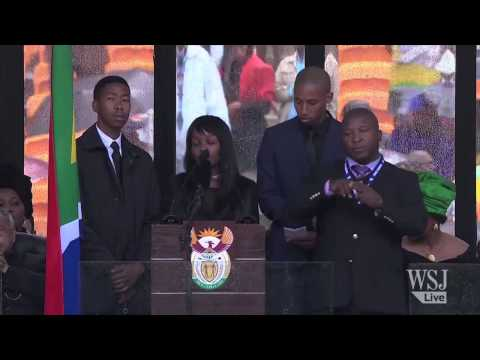 Was the Mandela Service Sign Language Interpreter Faking It?