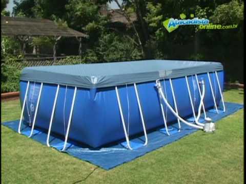 limpeza e manuten o piscinas intex youtube
