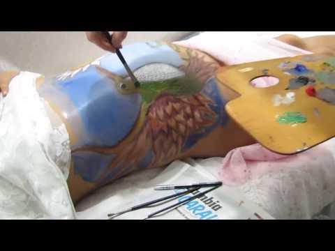 Cuerpos pintados Embarazadas
