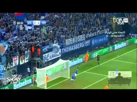 Real Madrid vs Schalke 04 (6-1) All Goals And Highlight HD 26-02-2014