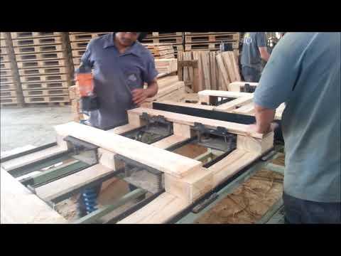 Mesa para Montagem Manual de Pallets – Modelo MMP