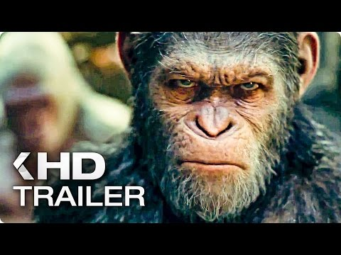 WAR FOR THE PLANET OF THE APES Trailer (2017)