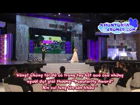 [Vietsub-KV] 101229 MBC Entertainment Awards Khuntoria Cut