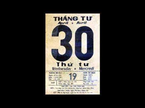 [TÀI LIỆU LỊCH SỬ] Lời phát biểu của Trịnh Công Sơn trên Đài Phát Thanh Sài Gòn, trưa 30/4/1975