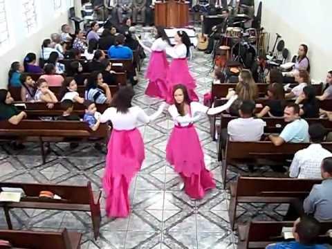Grupo de Gesto Adolescentes - Assembléia de Deus Paulistana Musica Jeová Rafah
