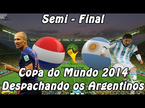 PES 2014 - PC / Holanda x Argentina - Copa do Mundo 2014 - Despachando os Argentinos