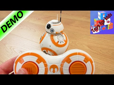BB8 Hasbro - Remote-controlled droid from Star Wars - Demo