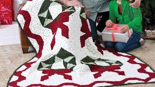 How To Crochet Wreath Throw