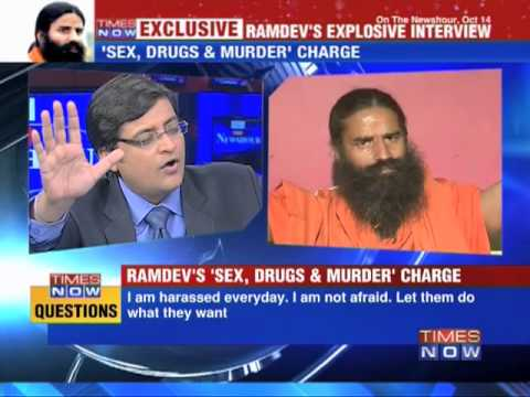 Ramdev goes all out against Congress, CBI