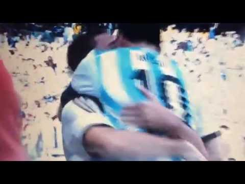 Lionel messi goal. Argentina vs Iran World Cup 2014 Brazil