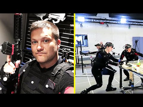 I WAS IN INFINITE WARFARE! - Infinity Ward Studio / Motion Capture Vlog