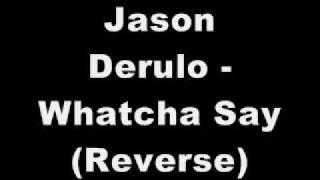 Jason Derulo Whatcha Say ( SUBLIMINAL / REVERSE MESSAGE
