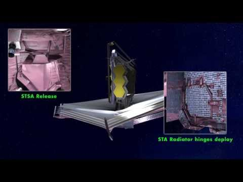 The James Webb Space Telescope Deployed | NASA Space Science HD