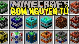Minecraft - TNT BOM NGUYÊN TỬ - QUÁ NHIỀU TNT! (MOD MINECRAFT)