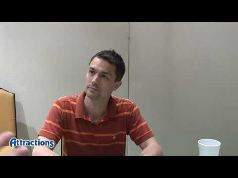 Actor Christian Coulson (Tom Riddle aka Voldemort) talks about The Wizarding World of Harry Potter