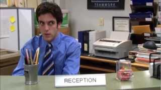The Office Michael S Creepy Stare At Ryan Youtube