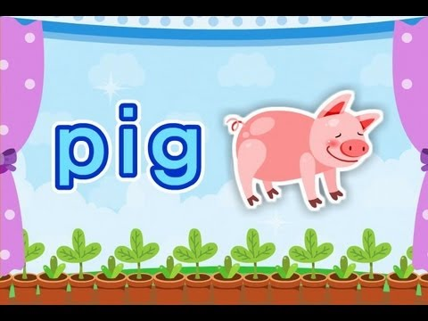 ABC Phonics Chant Song 9 - short i o (Level III-Vowel) | muffin songs