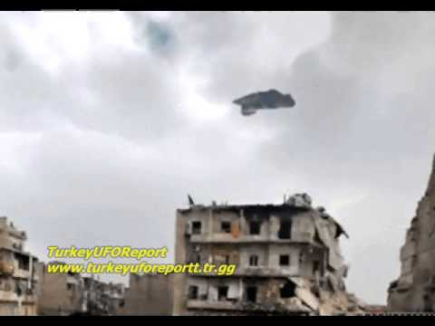 SYRIAN WAR AND UFO-2013 REAL FOOTAGE
