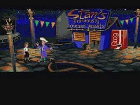 Stan sells EVERYTHING to Guybrush