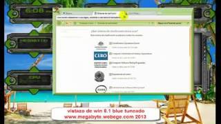 VISTAZO DE WIN 8.1 BLUE TUNEADO WWW.MEGABYTE.WEBEGE.COM