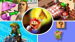 All Zelda References and Cameos in Mario Games (1985 - 2018)