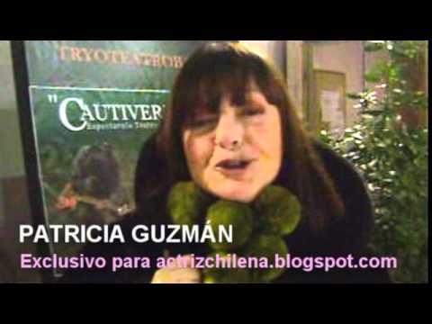 Actriz Patricia Guzmán saluda a blog Actriz Chilena