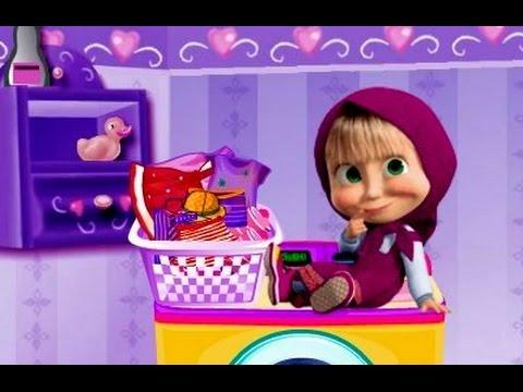 Masha cô bé siêu quậy và chú gấu xiếc: Masha giặt quần áo - Masha's Laundry Day (Episode 18)